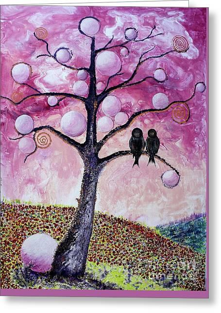 Bubbletree Greeting Card