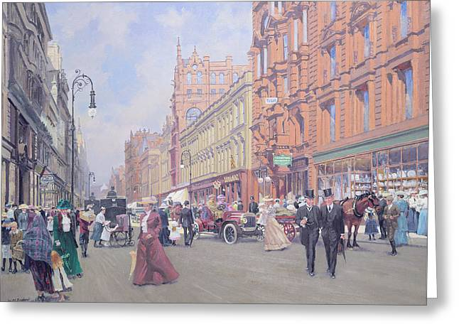 Buchanan Street Greeting Card