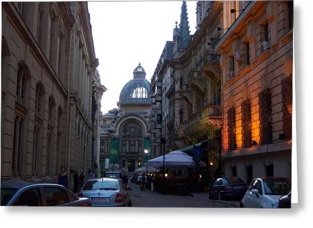 Bucharest 2 Greeting Card