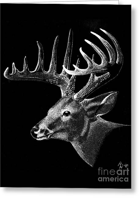 Buck Fever Greeting Card by Jeff  Blevins