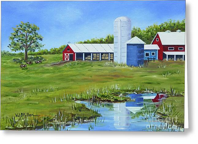 Bucks County Farm Greeting Card