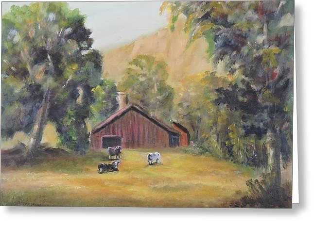 Bucks County Pa Barn Greeting Card