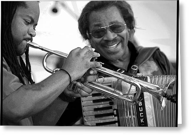Buckwheat Zydeco Greeting Card