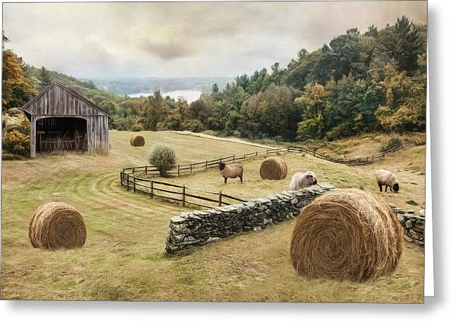Bucolic Greeting Card by Robin-Lee Vieira