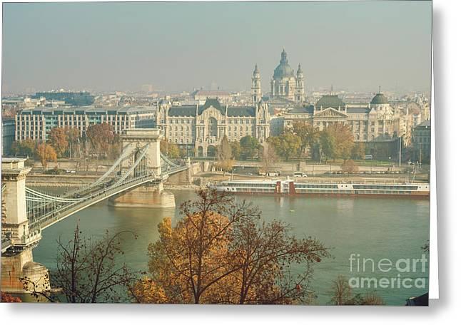 Budapest, Hungary Greeting Card by Jelena Jovanovic