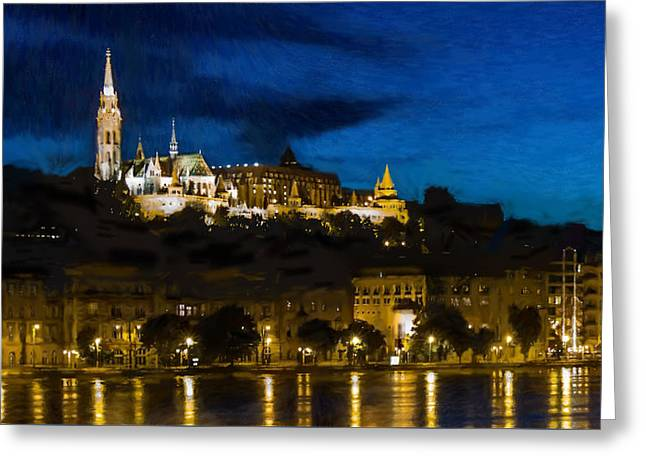 Budapest - Id 16236-104947-3830 Greeting Card by S Lurk