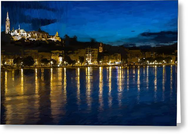 Budapest - Id 16236-104950-5207 Greeting Card by S Lurk