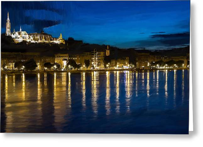 Budapest - Id 16236-105006-5202 Greeting Card by S Lurk