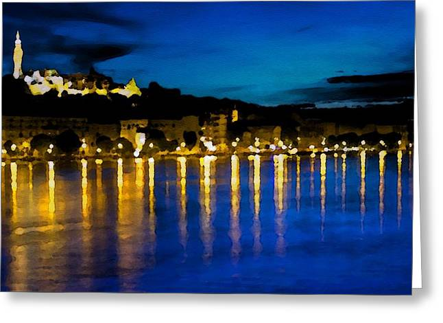 Budapest - Id 16236-105017-7881 Greeting Card by S Lurk