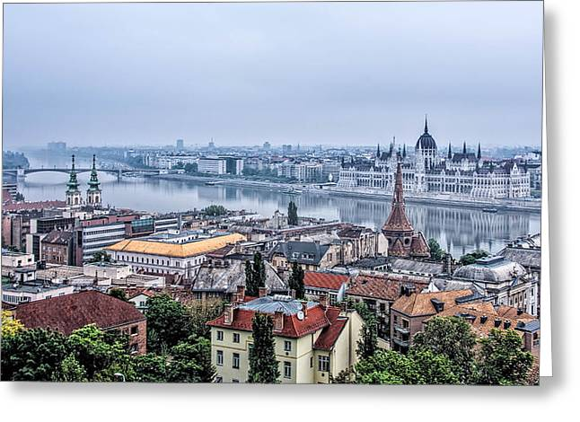 Budapest The Hidden Treasure Chest Greeting Card