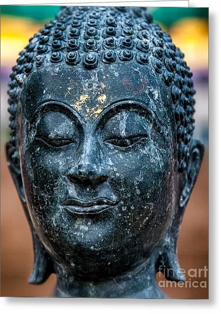 Buddha Greeting Card by Adrian Evans