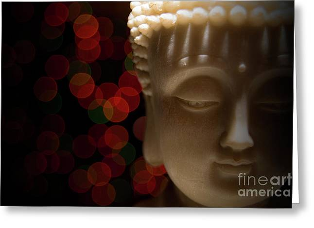 Greeting Card featuring the photograph Buddha by Brian Jones