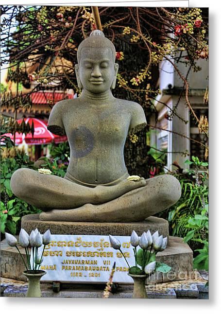 Buddha Cambodia  Greeting Card