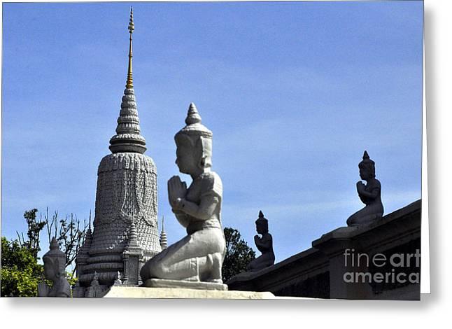 Buddha Clan 2 Greeting Card