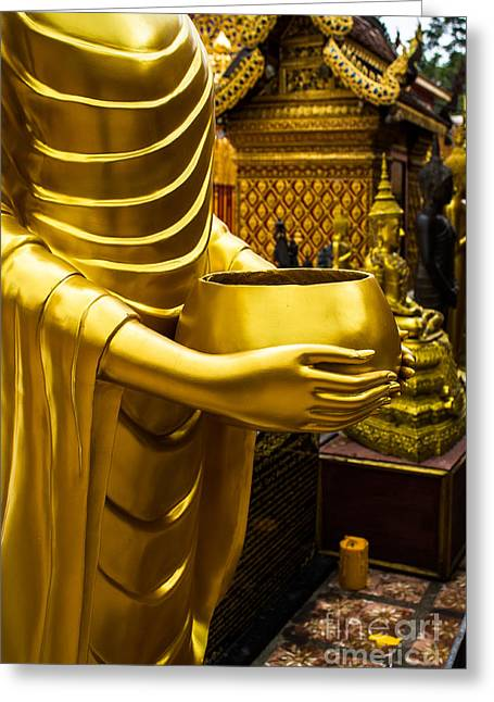 Buddha Image Greeting Card