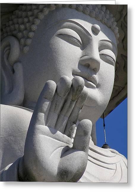 Buddha Greeting Card by Mary Lane