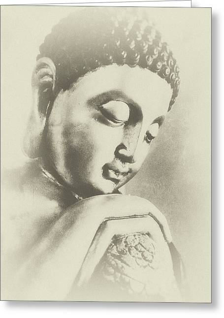Buddha Profile Dream Greeting Card