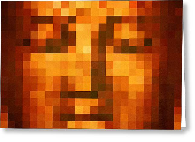 Buddha Greeting Card by Art Spectrum