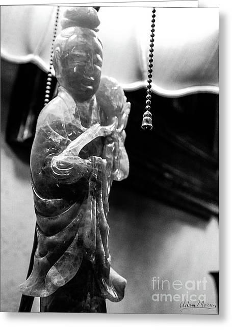 Buddha's Light Greeting Card