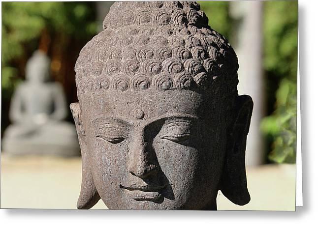 Buddha's Smile Greeting Card