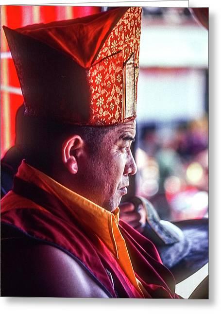 Buddhist Monk 2 Greeting Card