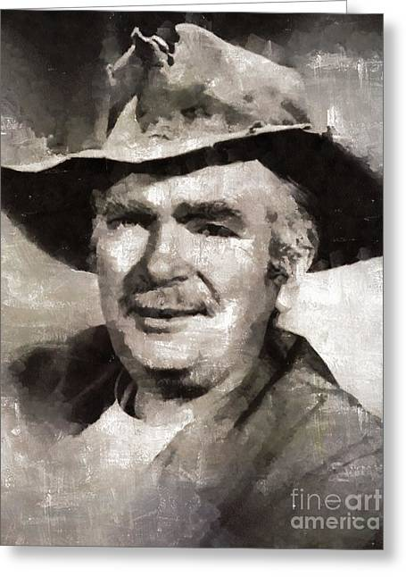 Buddy Ebsen, Actor Greeting Card