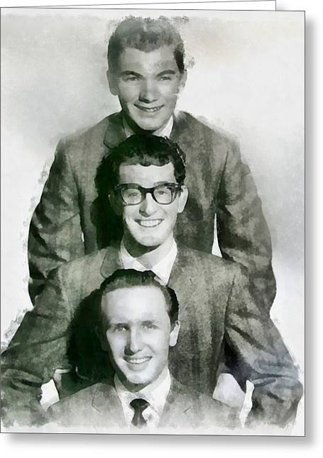 Buddy Holly And The Crickets Greeting Card