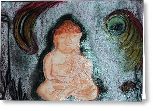 Budita Greeting Card by Kasper Castillo