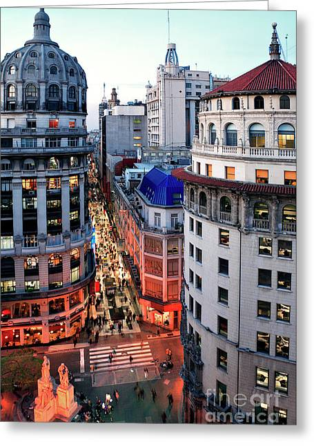 Buenos Aires Street I Greeting Card