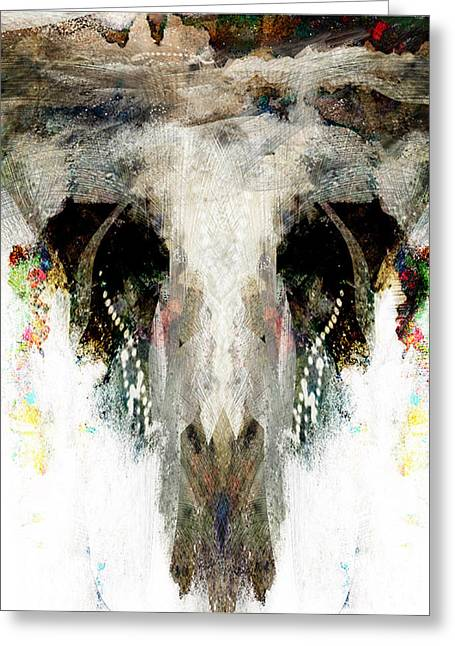 Buffalo Caves Greeting Card by James VerDoorn