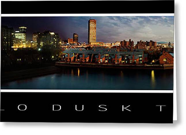 Buffalo Dusk To Dark 2 Greeting Card