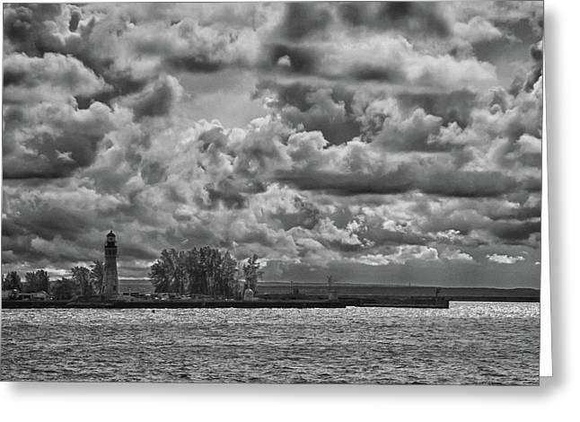 Buffalo Lighthouse 8111 Greeting Card