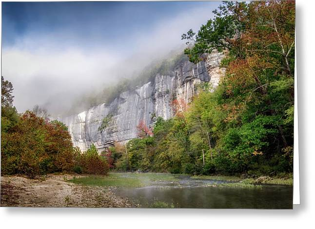Buffalo River Autumn Greeting Card by James Barber