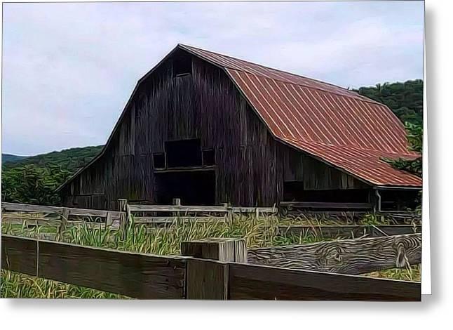 Buffalo River Barn Greeting Card