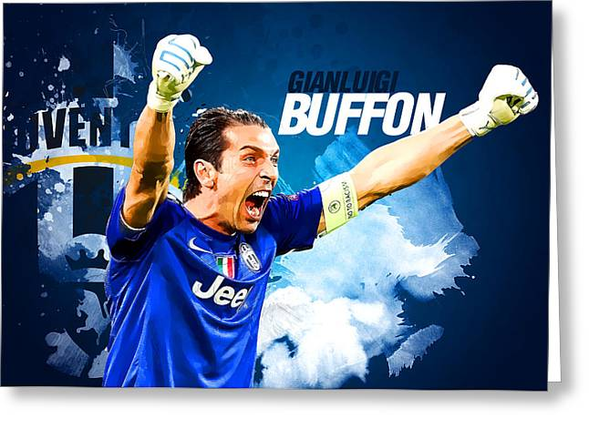 Buffon Greeting Card by Semih Yurdabak