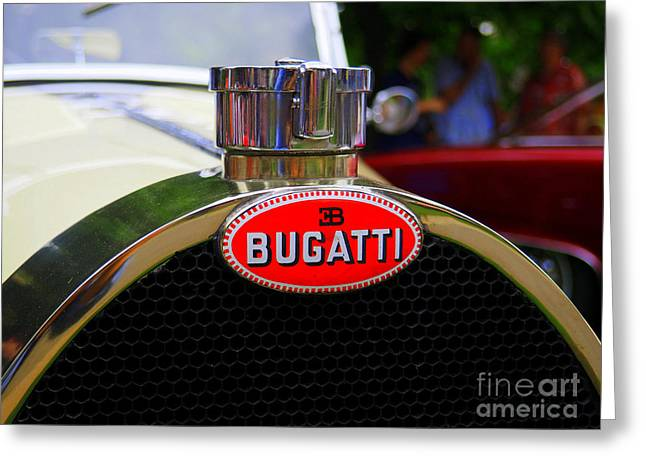 Bugatti Red Greeting Card