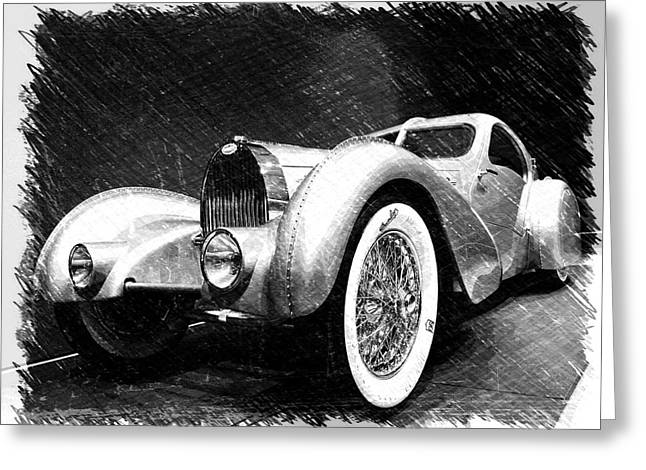 Bugatti Type 57 Aerolithe Greeting Card