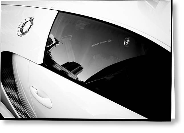 Greeting Card featuring the photograph Bugatti Veyron 16.4 by Michael Hope