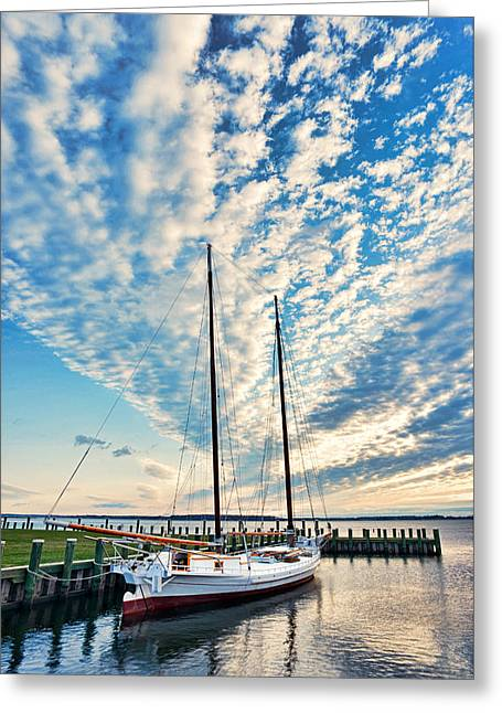 Bugeye - Chesapeake Maritime Museum Greeting Card
