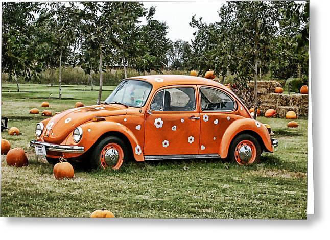 Bugs In The Patch Again Greeting Card by Scott Wyatt