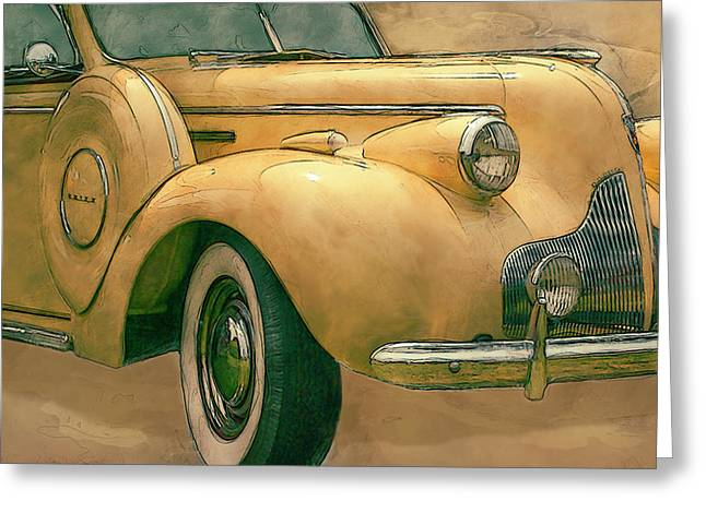 Buick Classic Greeting Card by Jack Zulli