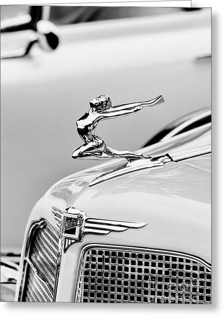 Buick Flying Lady Greeting Card by Tim Gainey