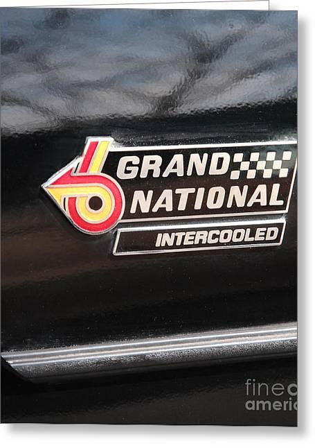 Buick Grand National Emblem Greeting Card