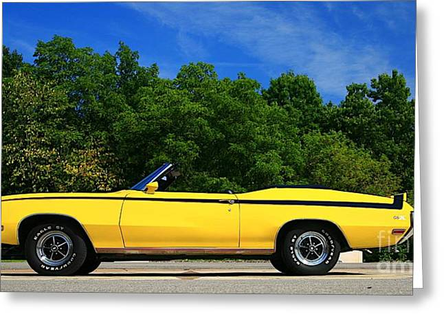 Buick Gsx Greeting Card by Robert Pearson