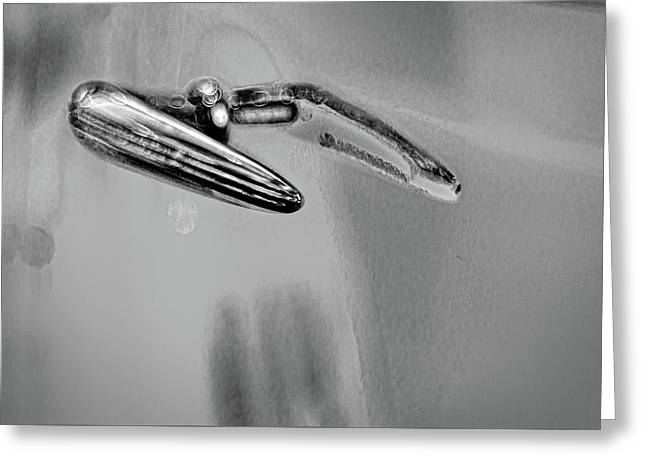 Buick Lasalle Door Handle Greeting Card by Stuart Litoff