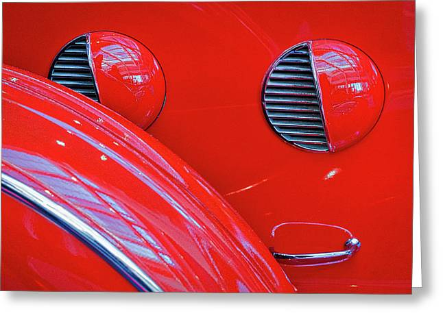 Buick Lasalle Portholes And Fender #3 Greeting Card by Stuart Litoff