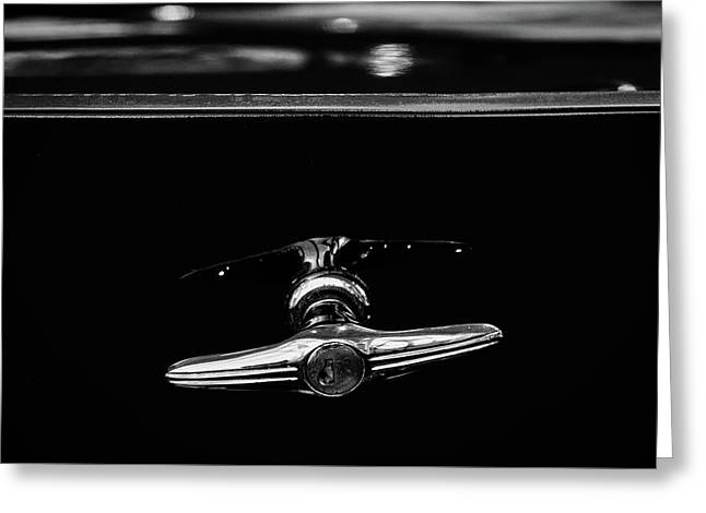 Buick Lasalle Trunk Handle #2 Greeting Card by Stuart Litoff