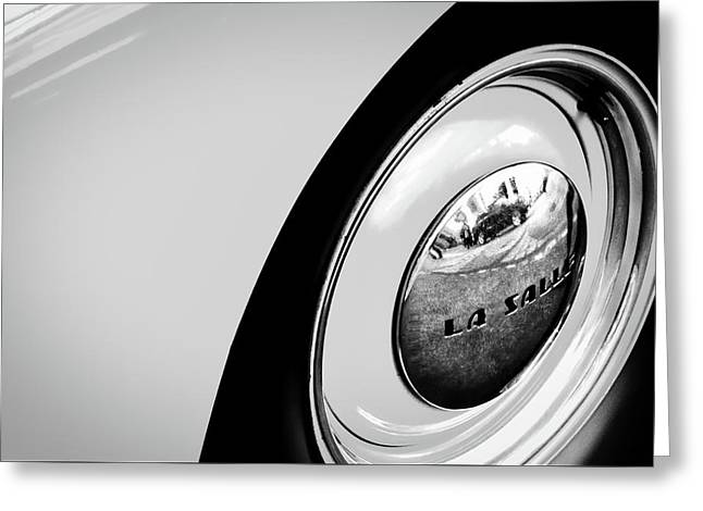 Buick Lasalle Wheel And Fender Greeting Card by Stuart Litoff