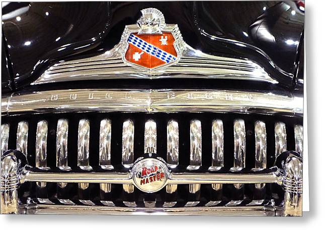 Buick Road Master Grill Greeting Card by Mike McGlothlen