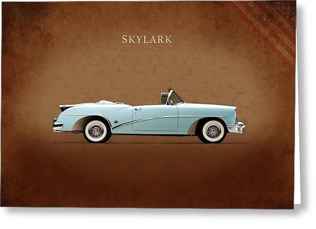 Buick Skylark 1954 Greeting Card by Mark Rogan